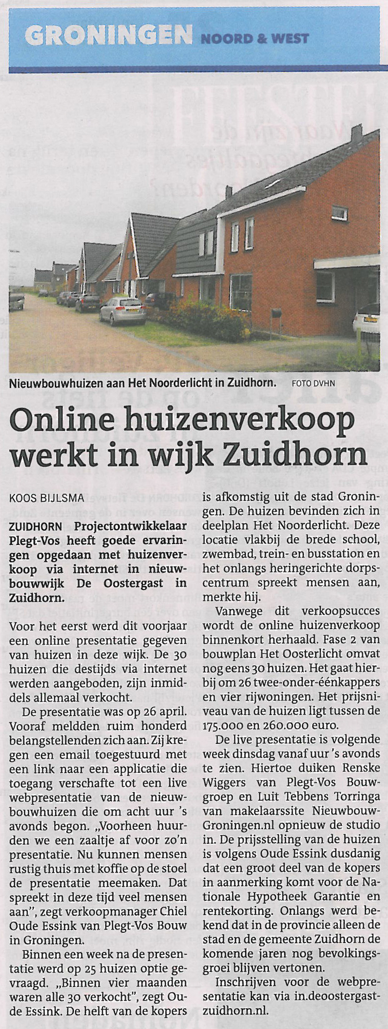 Tekstschrijver-Groningen-persbericht