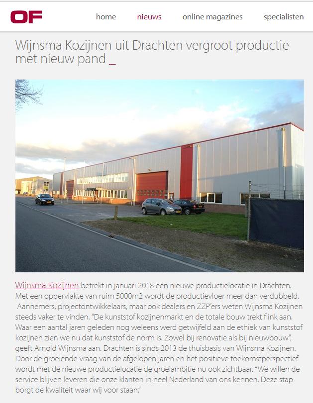 Tekstschrijver Friesland voor al uw persberichten