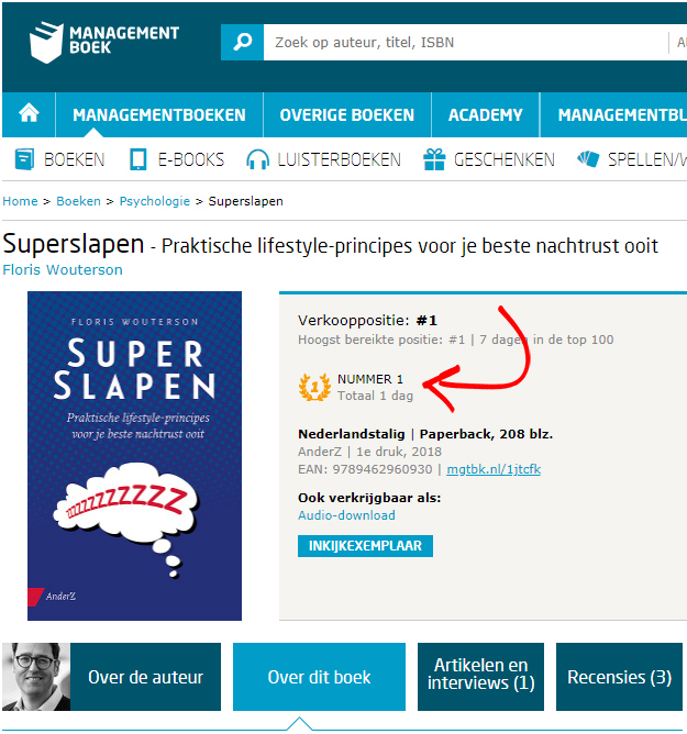 SuperSlapen-Boekmarketing-Boekpromotie